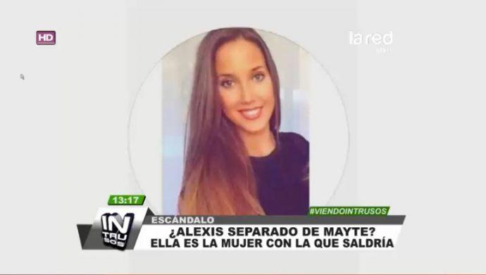 Aseguran que Alexis Sánchez y Mayte Rodríguez terminaron: él tendría nueva pareja