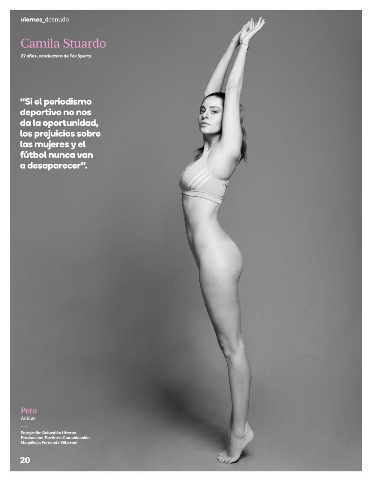 Camila Stuardo Posó Al Desnudo Para Revista Viernes Ar13cl