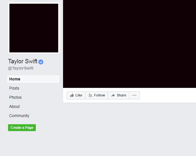 Taylor Swift borró todas sus publicaciones en redes sociales