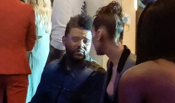Así encontraron a Bella Hadid y The Weeknd en Cannes