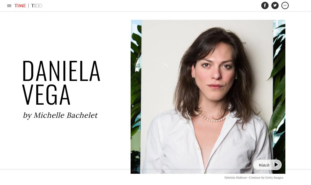 Daniela Vega aparece dentro de personas más influyentes del 2018