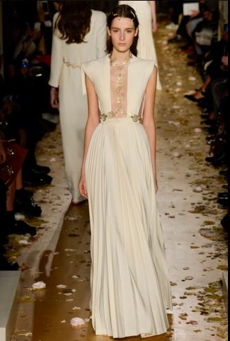 Vestido blanco valentino