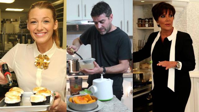 15 famosos que probablemente no sab as que aman cocinar for Cocinando 15 minutos con jamie