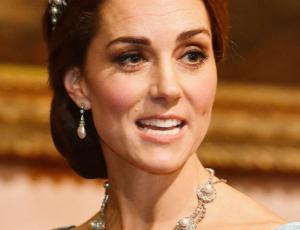Kate Middleton se luce con la tiara favorita de la princesa Diana