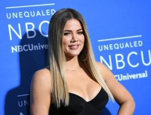 Khloé Kardashian trata de esconder su embarazo de una manera muy particular