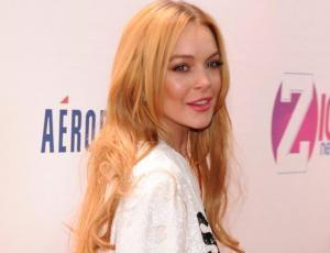 Captan a Lindsay Lohan con un poco sentador traje de baño