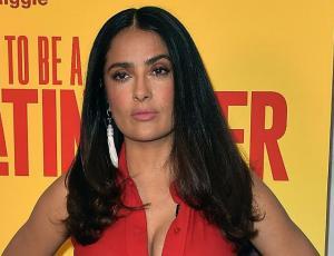 Salma Hayek muestra tres colores de pelo en 24 horas en Cannes