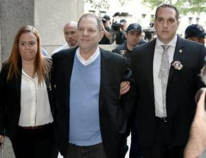 Las reacciones que dejó el arresto de Harvey Weinstein