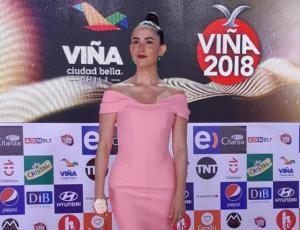 Lorena Bosch se la jugó con un vestido rosado y combinación de colores
