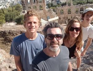 Cristián Sánchez y Diana Bolocco vivieron terremoto en Grecia