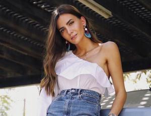 Aylén Milla llegó a Chile y reveló que encontró el amor en Dubai