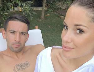 Mauricio Isla comparte tierna foto del embarazo de Gala Caldirola