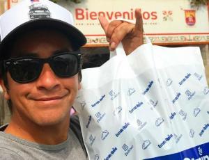 """Fernando Godoy """"presenta"""" a su hija con hilarante foto"""