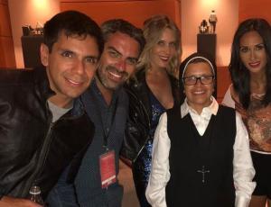 Hermana Nora, la monja que llamó la atención en el debut de Viña 2018