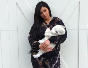Kylie Jenner compartió la primera foto sin filtro de Stormi