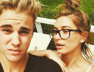 Justin Bieber y Hailey Baldwin se ponen fogosos en set de grabación