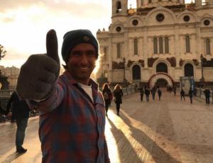 "La aventura extrema de Claudio Iturra en ""Transiberiano"""