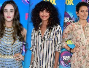 Los mejores looks de la alfombra azul de los Teen Choice Awards 2017