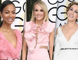 Los peores looks en la alfombra roja de los Golden Globes 2017