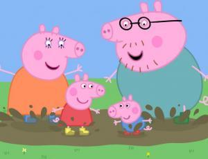 """Estudio asegura que """"Peppa Pig"""" es un mal ejemplo en temas de salud"""