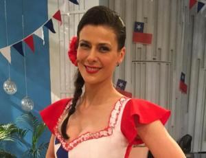 """Tonka Tomicic sacó suspiros vestida de huasita en """"Bienvenidos"""""""