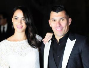 En fotos: el matrimonio de Gary Medel y Cristina Morales