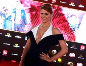 Tonka Tomicic despidió el 2017 con sensual desnudo