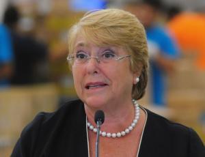 El chascarro de Bachelet que sacó carcajadas en las redes sociales