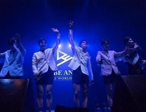 Los chicos de A.C.E conectaron con las Choices en su primer concierto en Chile