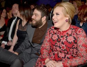 El romántico gesto que tuvo la pareja de Adele en pleno concierto