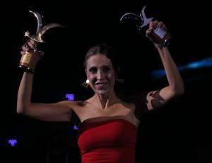 Alejandra Azcárate logró conquistar al monstruo de Viña