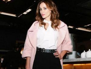 Alejandra Fosalba posó como modelo para revista Vogue México