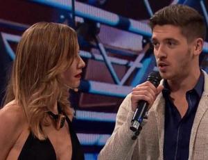Alex Consejo le declara su amor en vivo y frente a todos a Paula Bolatti
