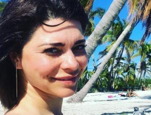 Las osadas fotografías de Antonella Ríos en sus vacaciones