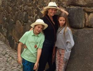 Los hijos de Chris Martin y Gwyneth Paltrow demostraron su talento musical