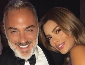 Gianluca Vacchi y Ariadna Gutiérrez disfrutan su amor en público