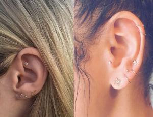 La nueva tendencia en perforaciones de oreja