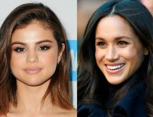 ¡Esto es guerra! Selena Gomez y Meghan Markle usan el mismo look