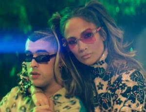 """Jennifer Lopez y Bad Bunny causan furor con video clip de """"Te gusté"""""""
