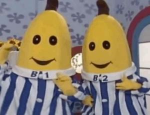 Así lucen los actores detrás de las Bananas en Pijama