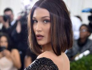 Bella Hadid fue vestida de sadomasoquista a la after party de la Met Gala 2017
