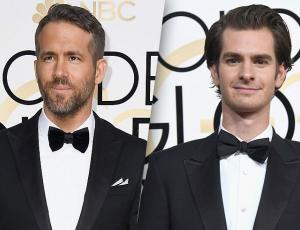 El apasionado beso entre Ryan Reynolds y Andrew Garfield que casi nadie notó