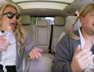 Britney Spears se vistió nuevamente de colegiala para Carpool Karaoke