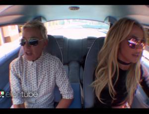 Britney Spears y Ellen DeGeneres se fueron de shopping
