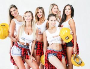 Conoce a las candidatas a reina de los obreros de la construcción