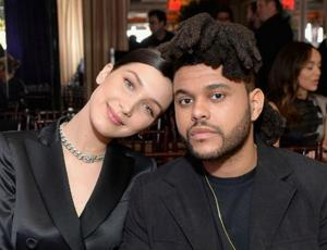 Bella Hadid y The Weeknd a los besos en Cannes