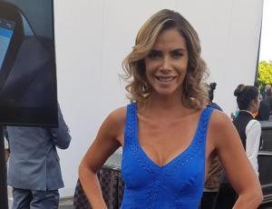 Carla Ochoa impacta con su look en el Copihue de Oro 2017