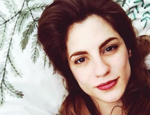 Carmen Zabala decide revelar foto de su embarazo