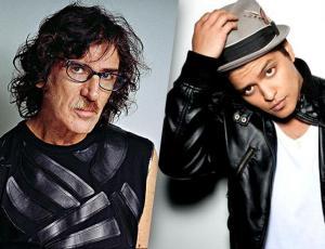 Charly García acusa a Bruno Mars de plagio