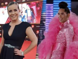 Claudia Conserva decidió imitar el polémico look de Di Mondo en Viña